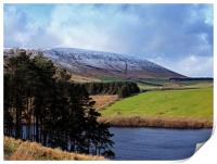 The side of Pendle Hill, Print