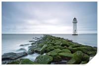 New Brighton Lighthouse (Above and Beyond), Print
