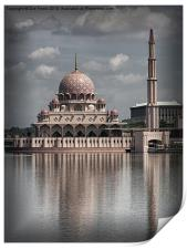 The Putra Mosque in Putrajaya, Print