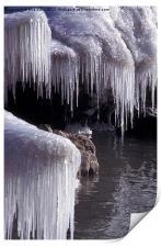 Curtain of Icicles, Print