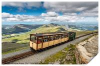 Mountain Train, Print
