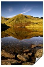 Lingmell end reflection, Print