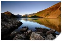 Wasdale reflections, Print