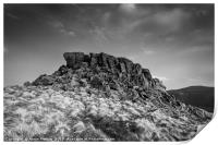 Crook Hill Summit, Print