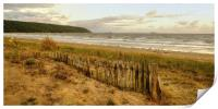 Early evening Sand Bay Somerset, Print