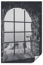 A view from the castle, Print