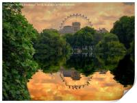 St James Park London, Print