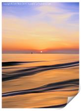 Sunset in the Bay, Print