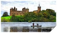 linlithgow palace, Print
