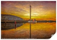 PS The Waverley at Sunset, Print
