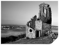 Mount Edgcumbe Folly, Print