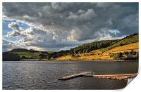 Storm Clouds Gathering over Ladybower , Print
