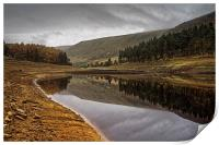 Howden Autumn Reflections , Print