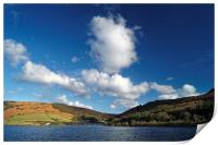 Big Clouds at Ladybower, Print