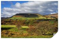 Edale and Hope Valley                     , Print