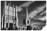 Sheffield Cathedral                    , Print