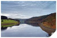 Ladybower Reflections                           , Print
