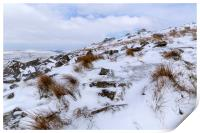 Stowes Hill Winter, Print