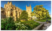 Exeter Cathedral, Print