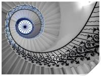 Spiral Stairs, Print