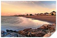 Minehead Seafront and Butlins, Print