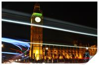 Westminster Lights, Print