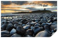 Dunstanburgh Castle, Northumberland, Print