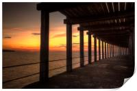 Whitby - Under the Boardwalk, Print