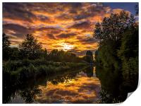 Kennet and Avon Canal, Print