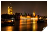 Houses of Parliament, Print