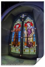 Chapel Stained Glass, Print