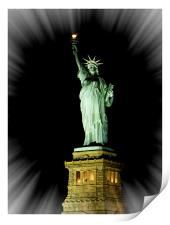 Statue of Liberty NYC, Print