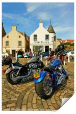 Harley Rally Anstruther, Print