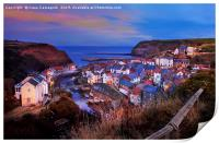 Silent Night - Staithes, Print