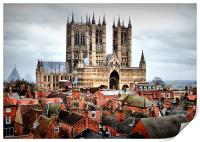 Lincoln Cathedral , Print
