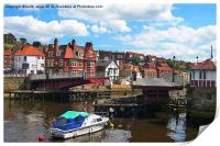 Open For Business At Whitby, Print