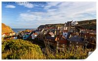 The Village Of Staithes, Print