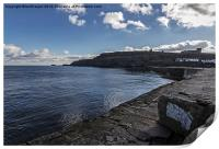 East Cliff Whitby, Print