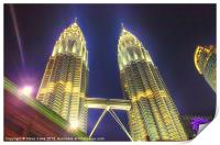 The Petronas Towers, Print
