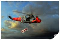 Royal Navy Search and Rescue (End of an Era), Print