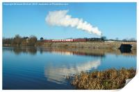 Butterley Reflections, Print