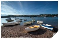 Early evening on the River Teign at Shaldon, Print