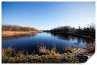 Barton on Humber Waters' Edge Country Park, North , Print