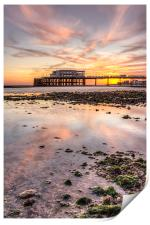 A very low tide, Print