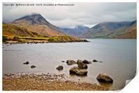 Mist over Wastwater, Print