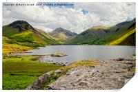 Great Gable and Wastwater, Print