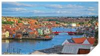 Whitby Summer Panorama, Print