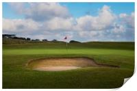 The sand trap, Print