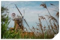 Cley Windmill Cley next the Sea Norfolk England , Print
