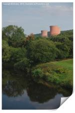 The Ironbridge Power Station, Print